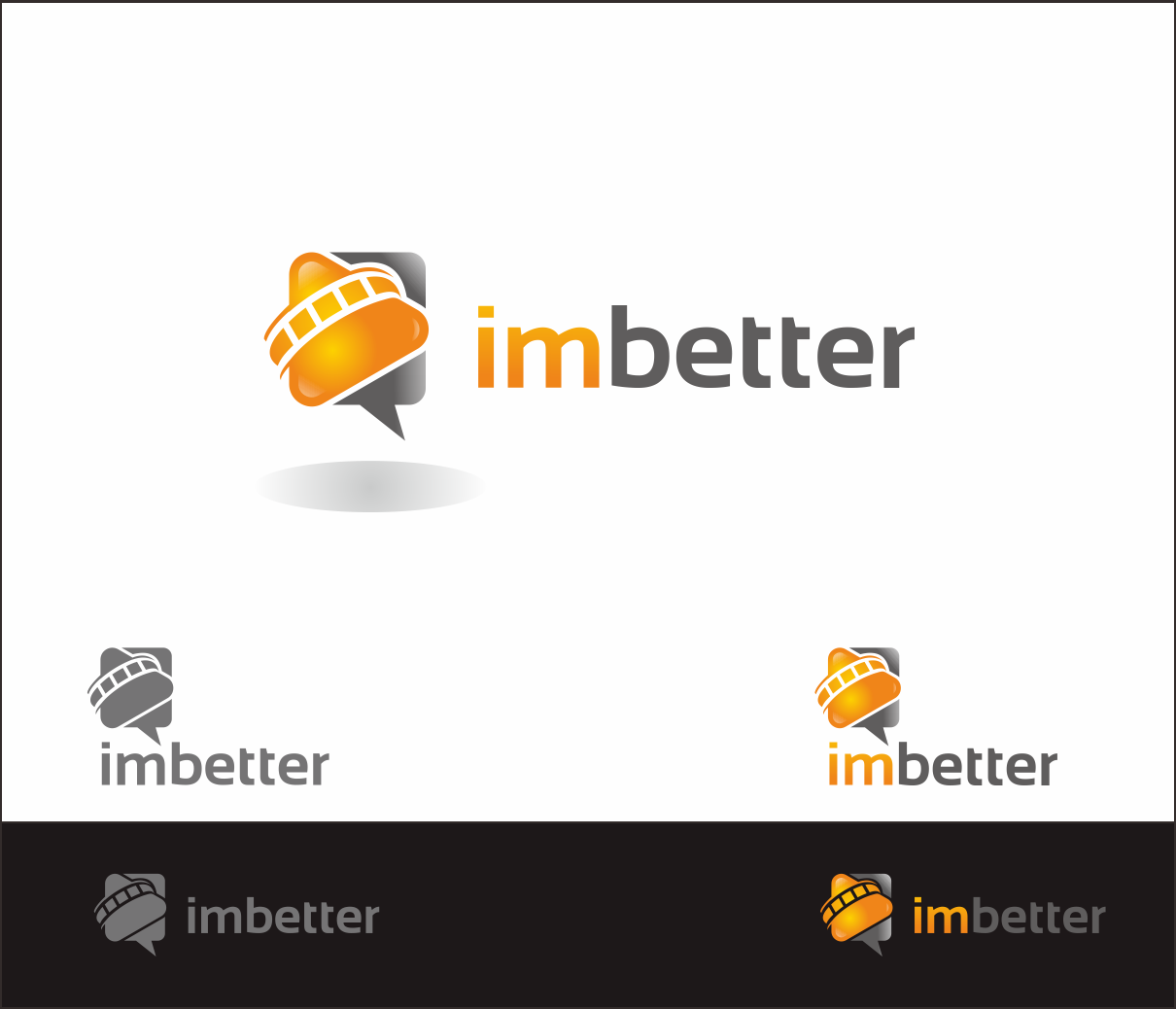 Logo Design by Armada Jamaluddin - Entry No. 149 in the Logo Design Contest Imaginative Logo Design for imbetter.
