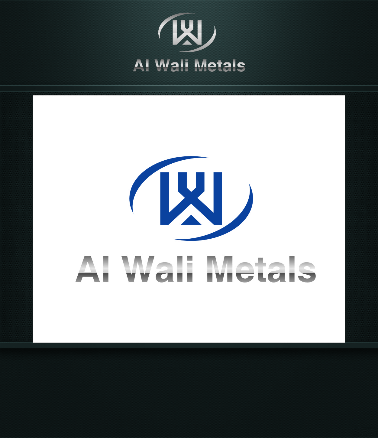 Logo Design by RasYa Muhammad Athaya - Entry No. 74 in the Logo Design Contest Inspiring Logo Design for Al Wali Metals.