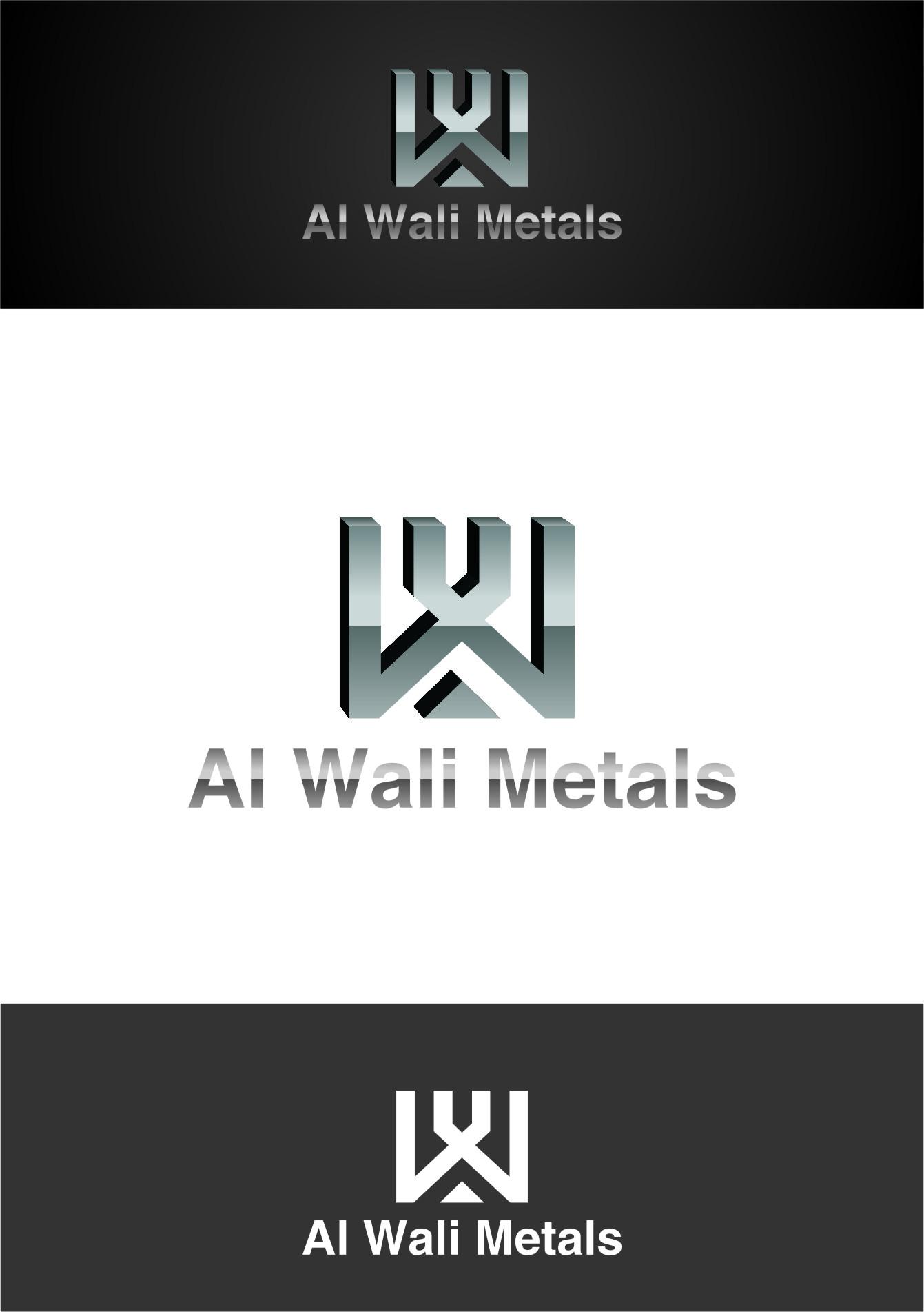Logo Design by RasYa Muhammad Athaya - Entry No. 75 in the Logo Design Contest Inspiring Logo Design for Al Wali Metals.