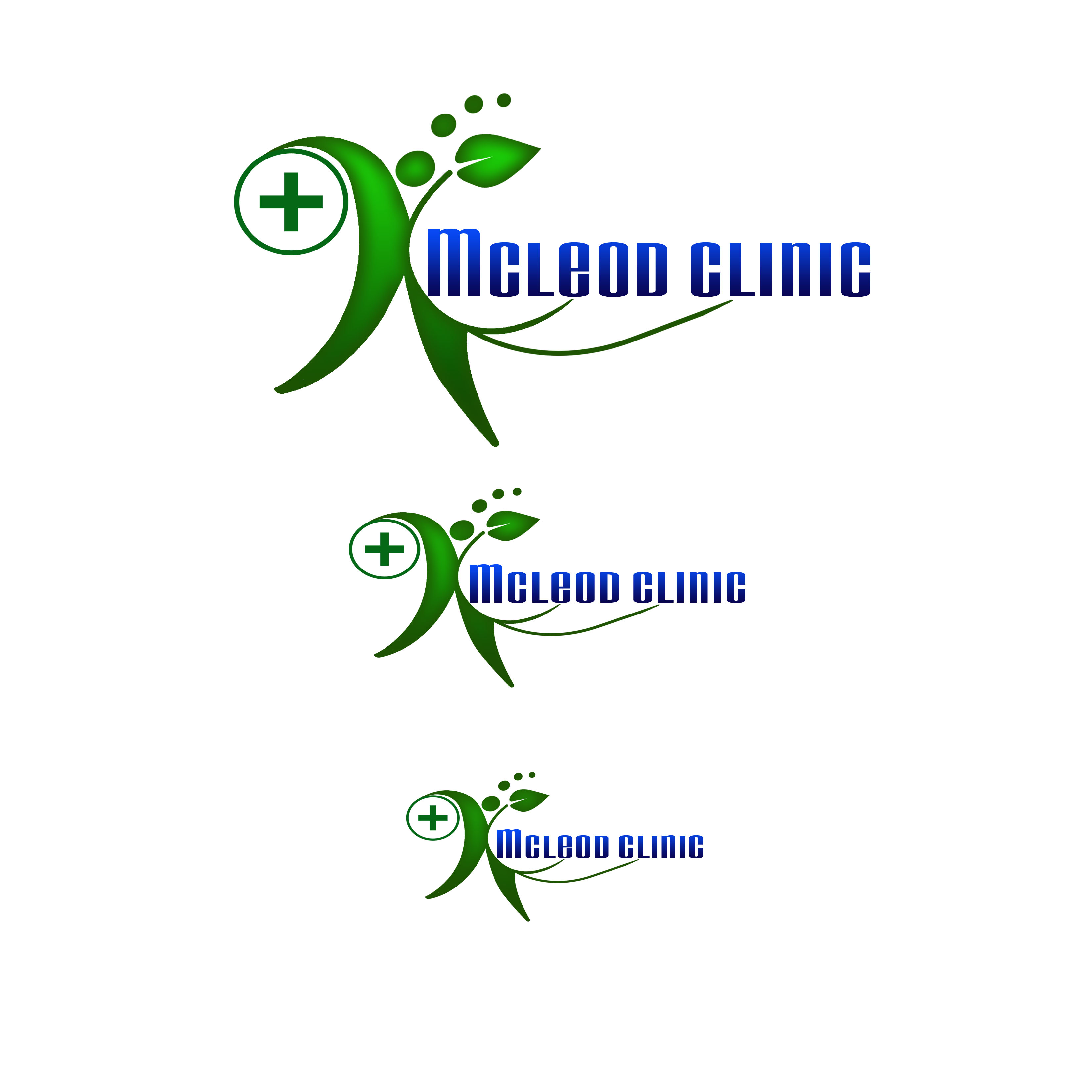 Logo Design by Alan Esclamado - Entry No. 13 in the Logo Design Contest Creative Logo Design for McLeod Clinic.