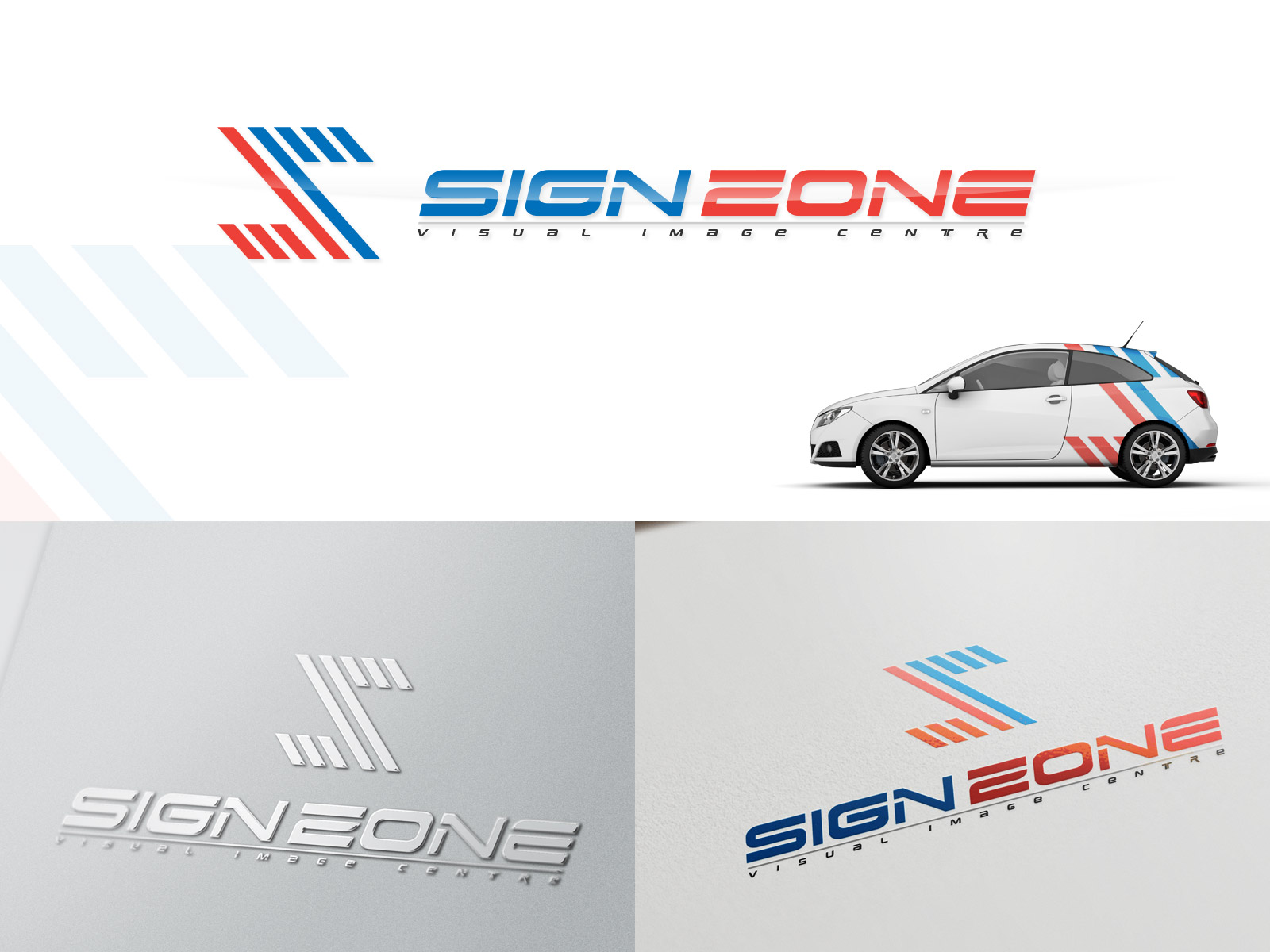 Logo Design by olii - Entry No. 99 in the Logo Design Contest Fun Logo Design for The Sign Zone.