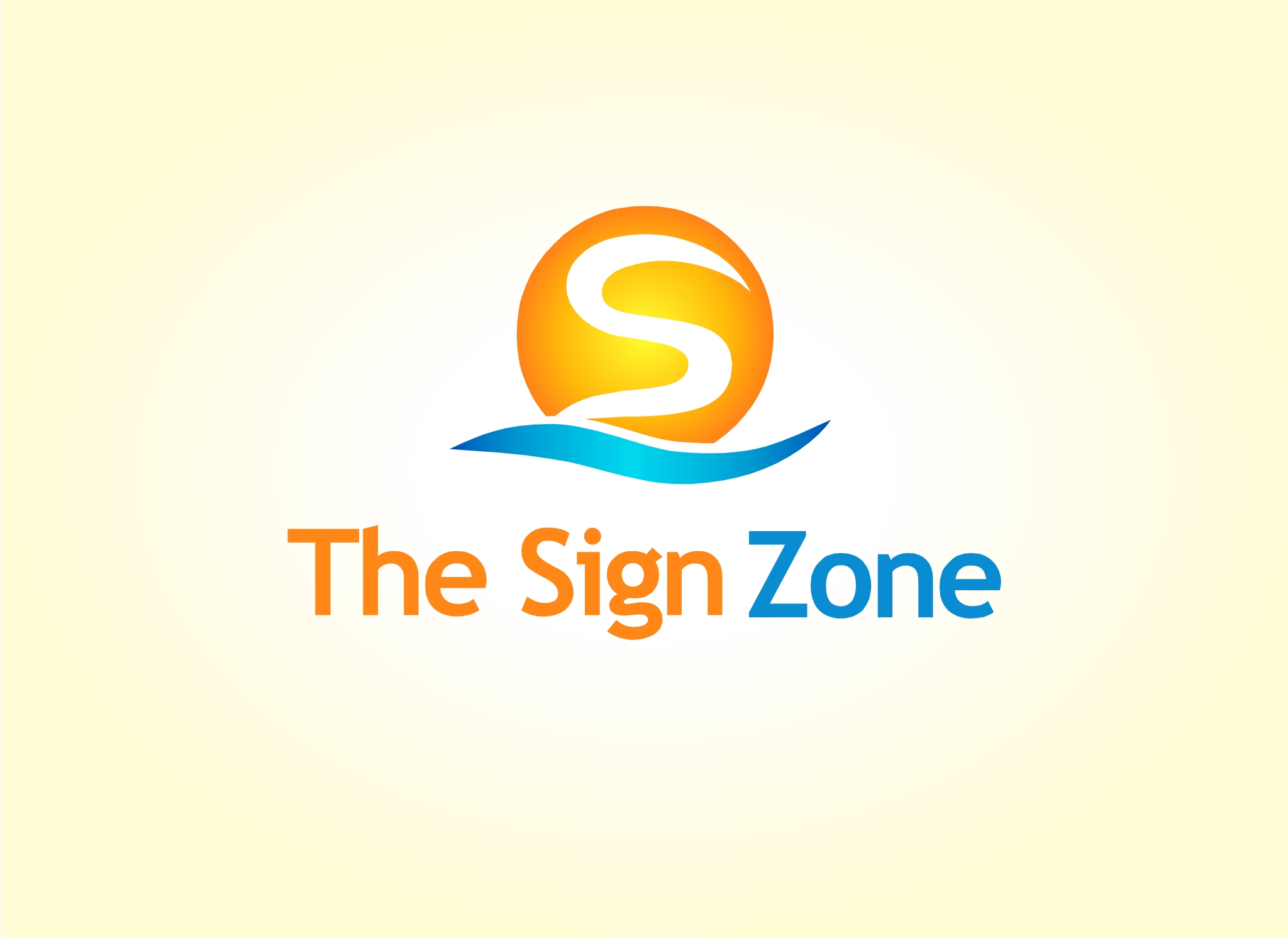 Logo Design by Marco Paulo Jamero - Entry No. 101 in the Logo Design Contest Fun Logo Design for The Sign Zone.