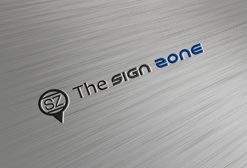 Logo Design by Achmad Fandi - Entry No. 103 in the Logo Design Contest Fun Logo Design for The Sign Zone.