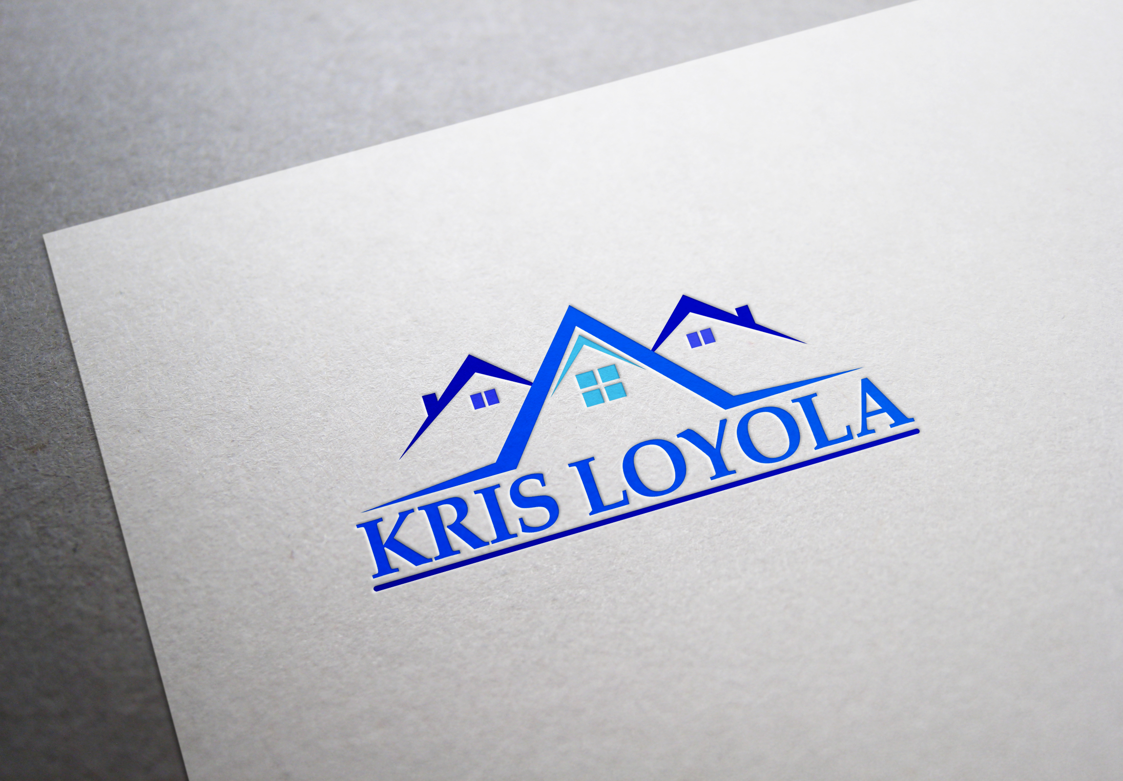 Logo Design by fireacefist - Entry No. 64 in the Logo Design Contest Kris Loyola Logo Design.