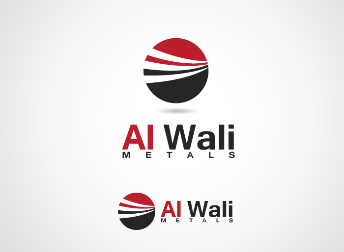 Logo Design by Jan Chua - Entry No. 82 in the Logo Design Contest Inspiring Logo Design for Al Wali Metals.