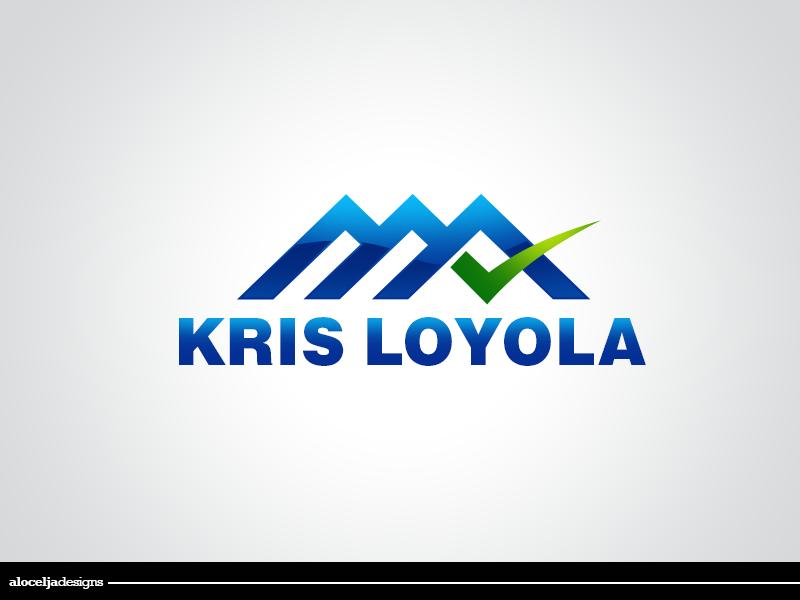 Logo Design by alocelja - Entry No. 70 in the Logo Design Contest Kris Loyola Logo Design.