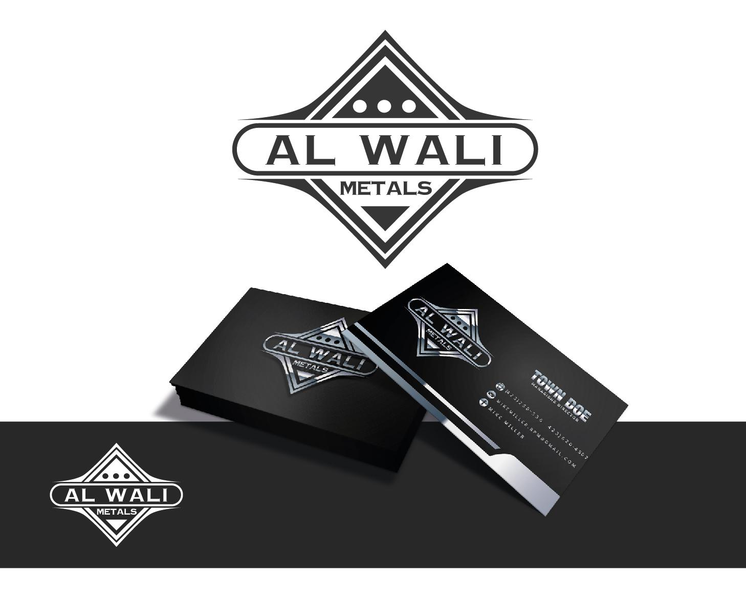 Logo Design by VENTSISLAV KOVACHEV - Entry No. 96 in the Logo Design Contest Inspiring Logo Design for Al Wali Metals.
