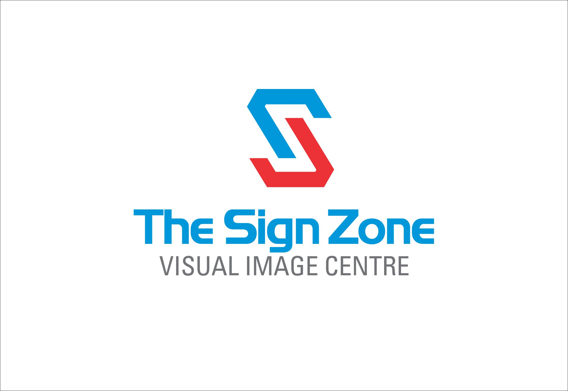 Logo Design by Private User - Entry No. 112 in the Logo Design Contest Fun Logo Design for The Sign Zone.