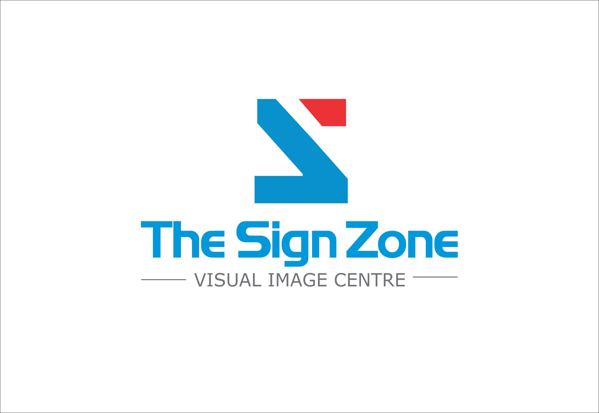 Logo Design by Private User - Entry No. 113 in the Logo Design Contest Fun Logo Design for The Sign Zone.