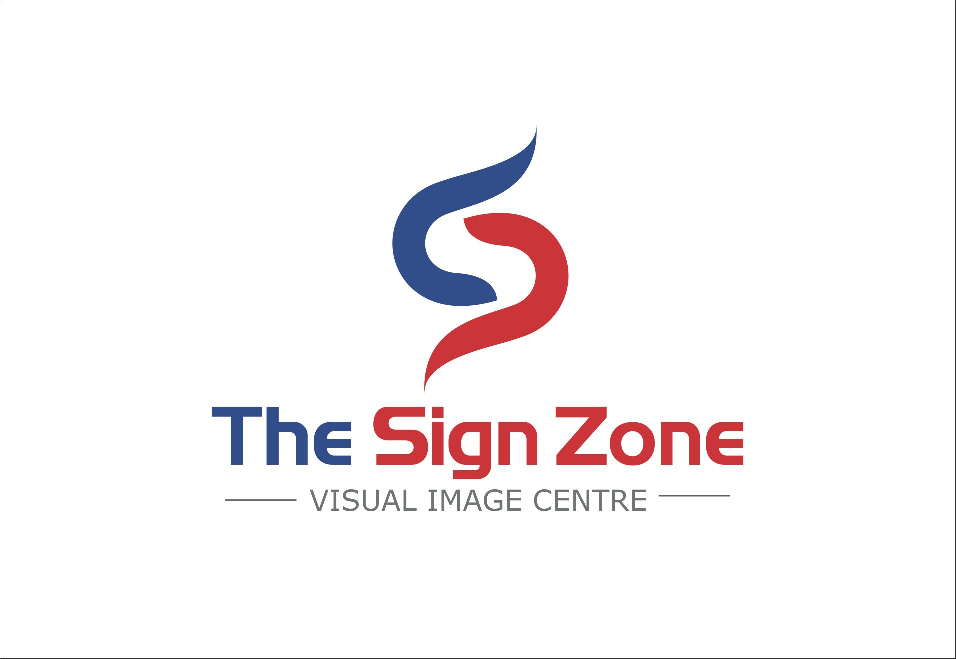 Logo Design by Private User - Entry No. 115 in the Logo Design Contest Fun Logo Design for The Sign Zone.
