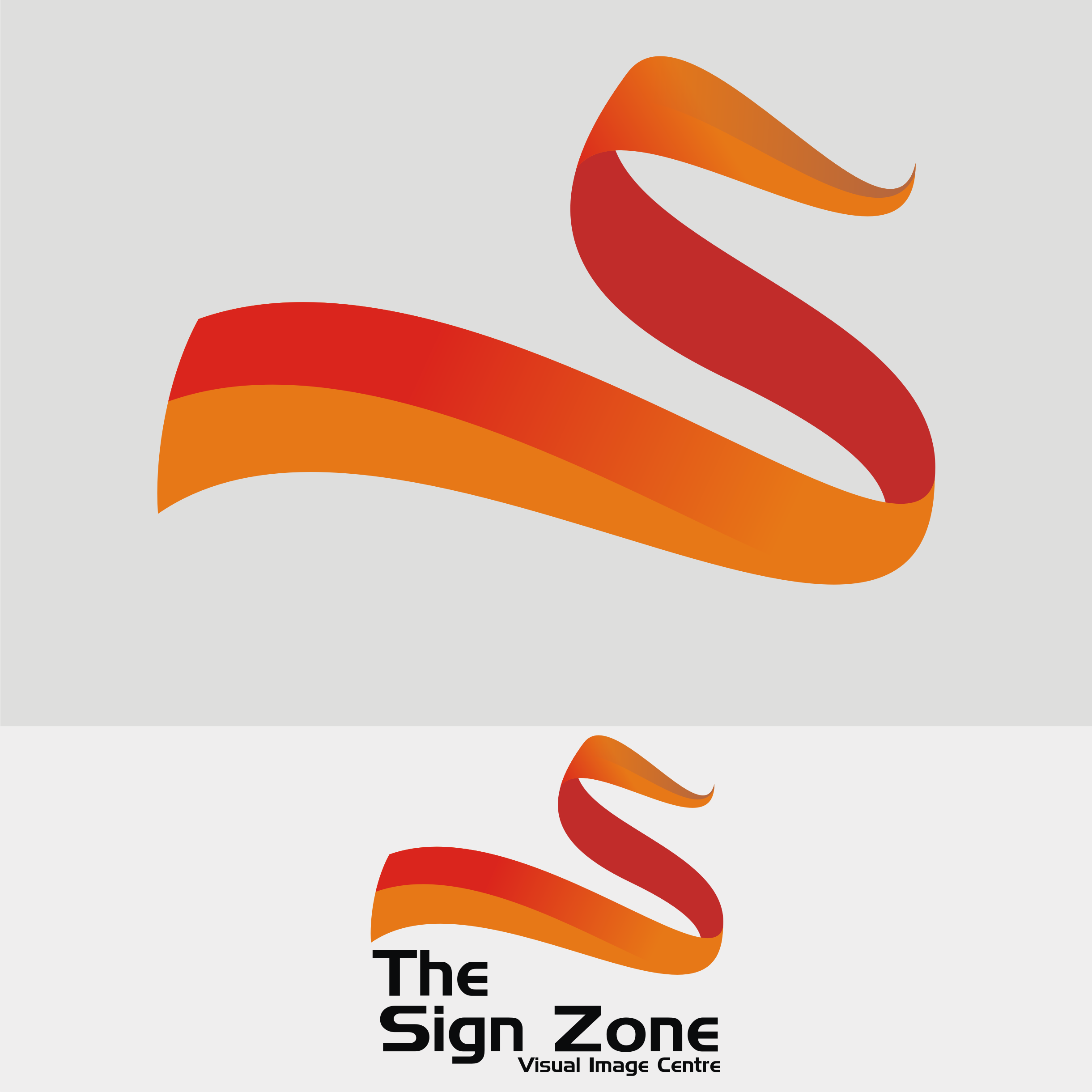 Logo Design by Private User - Entry No. 117 in the Logo Design Contest Fun Logo Design for The Sign Zone.