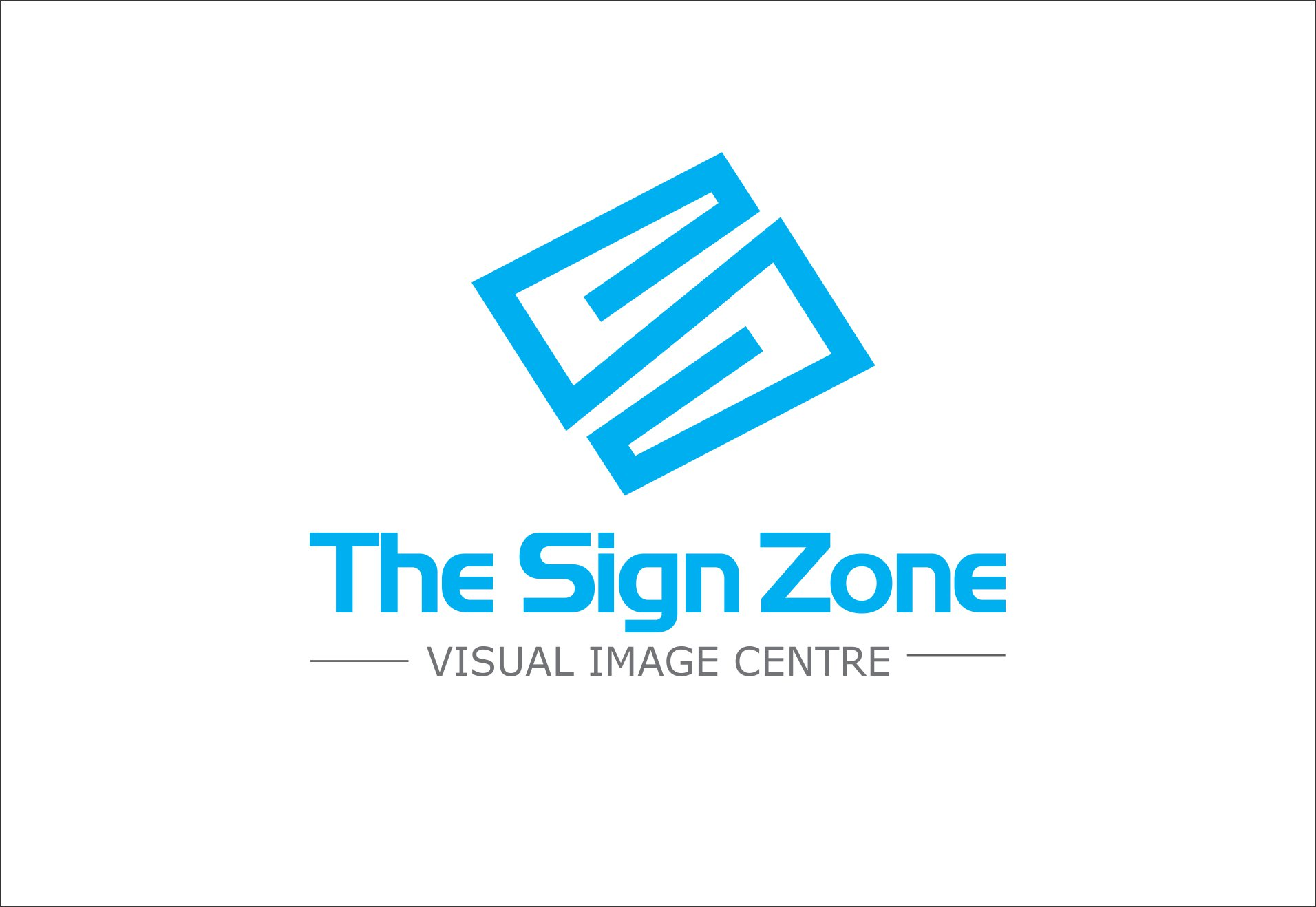 Logo Design by Private User - Entry No. 118 in the Logo Design Contest Fun Logo Design for The Sign Zone.