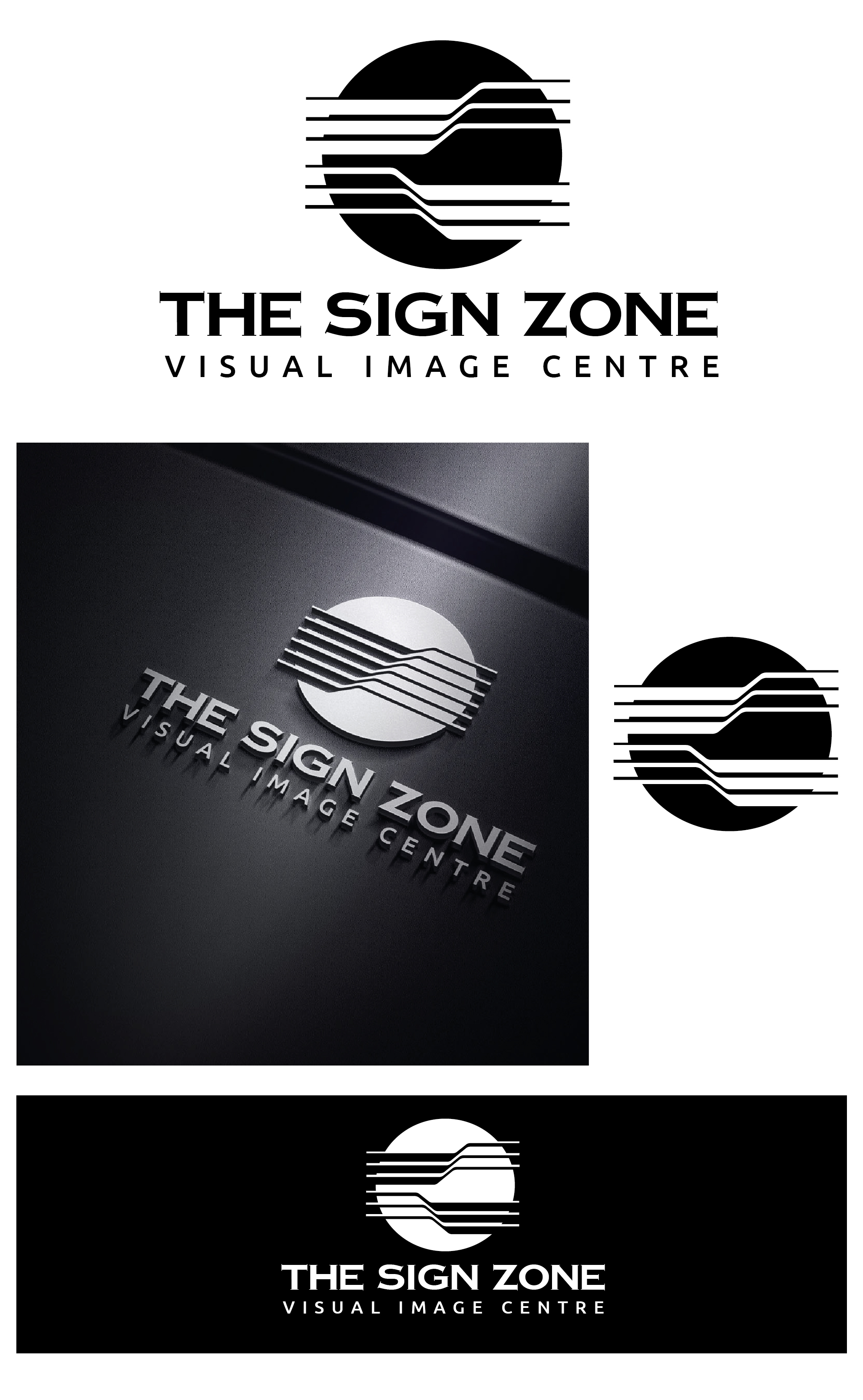 Logo Design by VENTSISLAV KOVACHEV - Entry No. 121 in the Logo Design Contest Fun Logo Design for The Sign Zone.