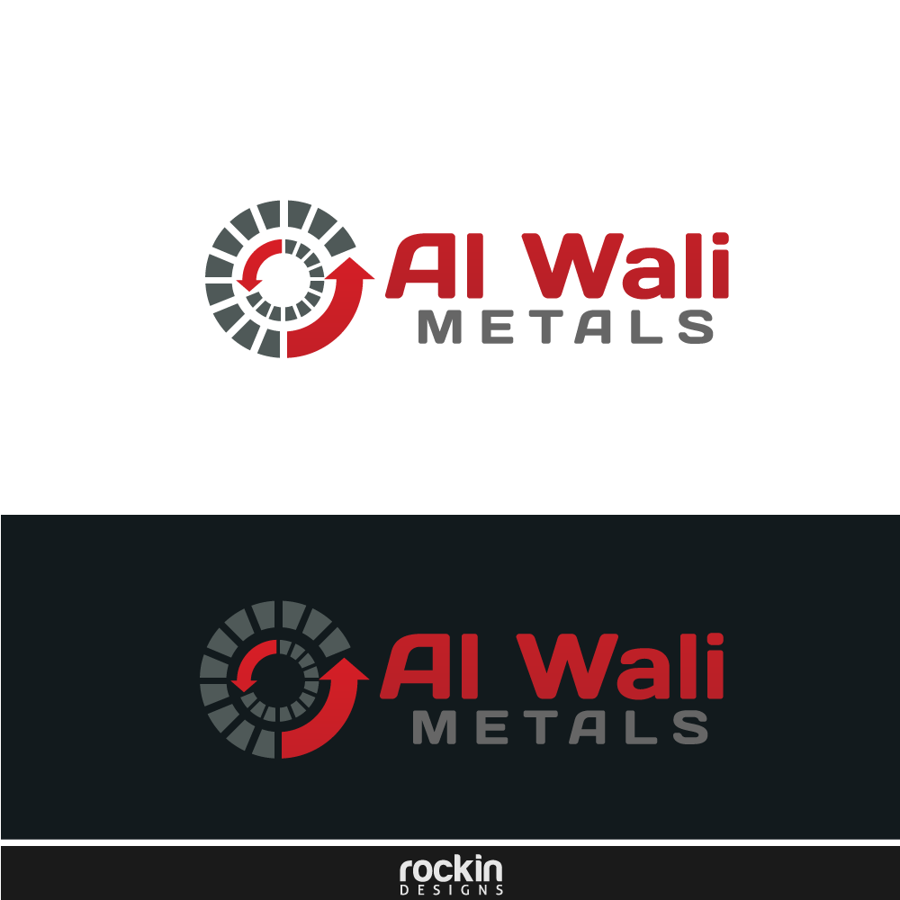 Logo Design by rockin - Entry No. 99 in the Logo Design Contest Inspiring Logo Design for Al Wali Metals.