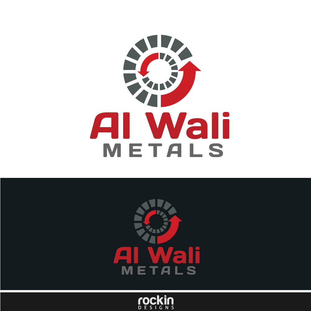 Logo Design by rockin - Entry No. 101 in the Logo Design Contest Inspiring Logo Design for Al Wali Metals.