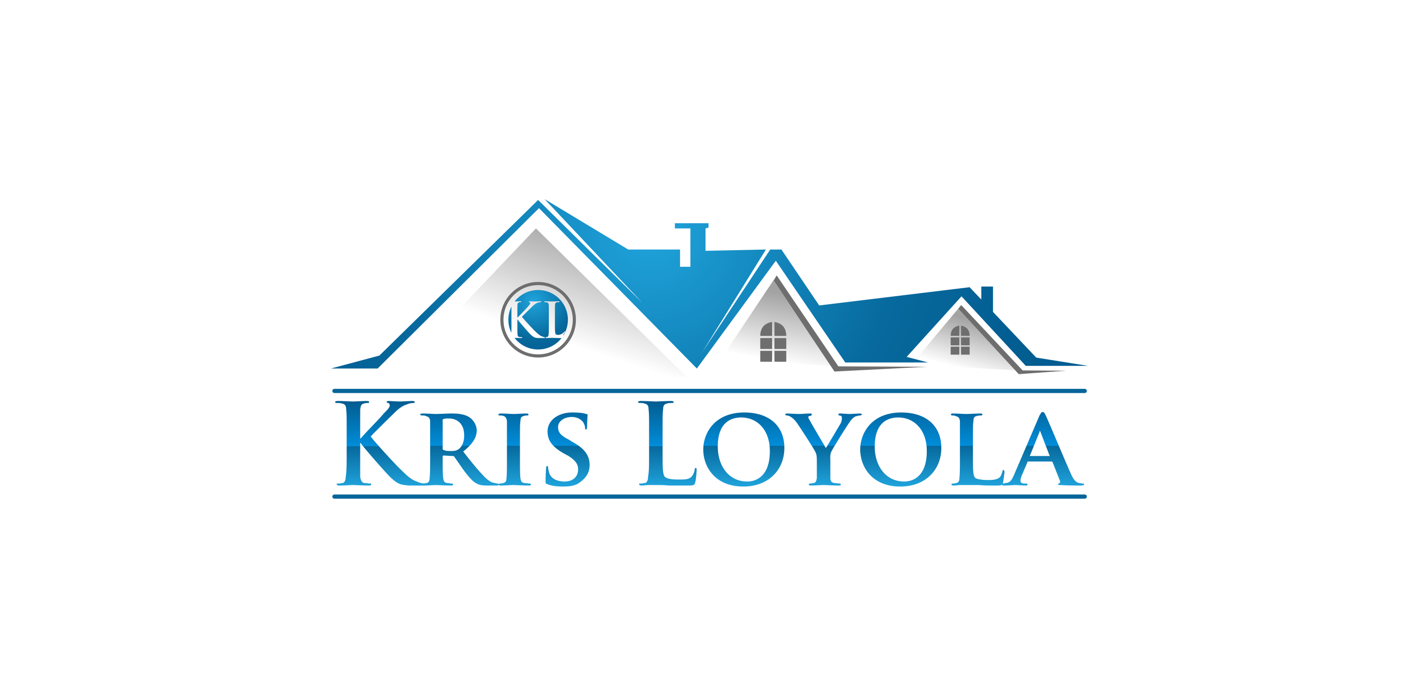 Logo Design by Muhammad Aslam - Entry No. 76 in the Logo Design Contest Kris Loyola Logo Design.