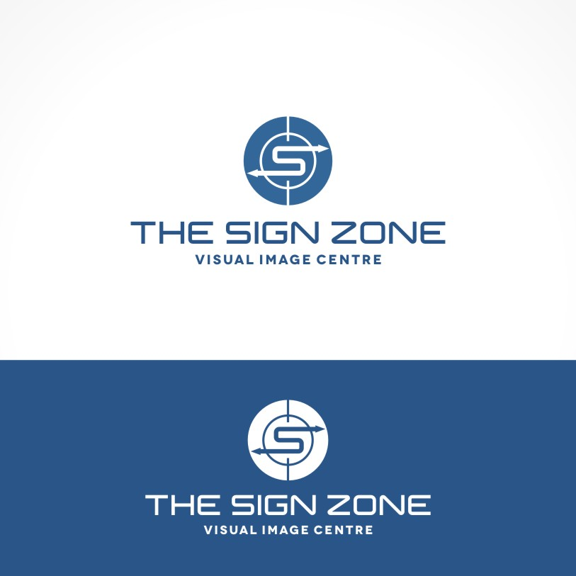 Logo Design by Private User - Entry No. 130 in the Logo Design Contest Fun Logo Design for The Sign Zone.
