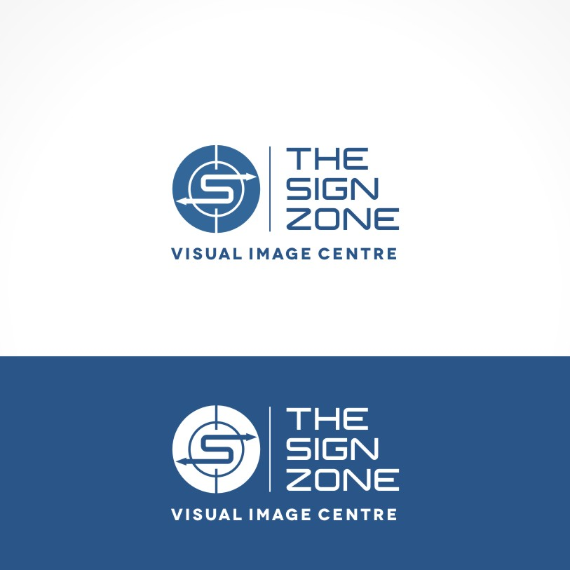 Logo Design by Private User - Entry No. 131 in the Logo Design Contest Fun Logo Design for The Sign Zone.