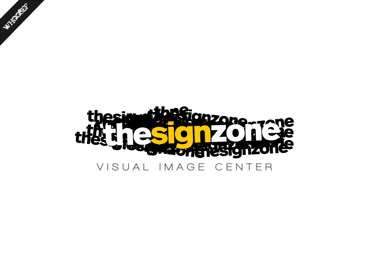 Logo Design by whoosef - Entry No. 134 in the Logo Design Contest Fun Logo Design for The Sign Zone.