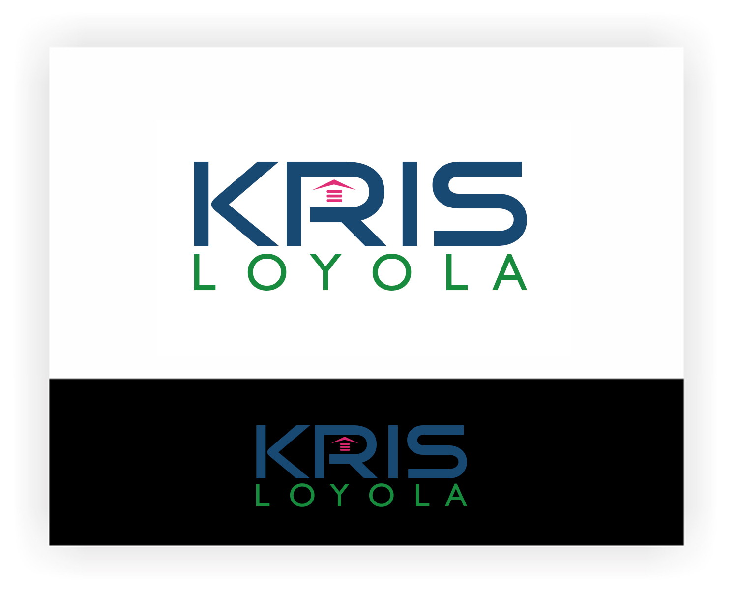 Logo Design by Burhan uddin Sheik - Entry No. 80 in the Logo Design Contest Kris Loyola Logo Design.