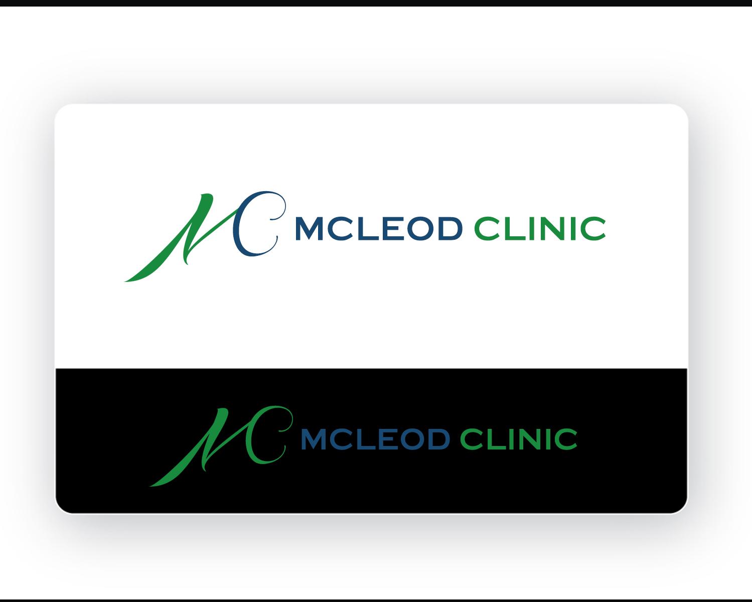 Logo Design by Burhan uddin Sheik - Entry No. 20 in the Logo Design Contest Creative Logo Design for McLeod Clinic.