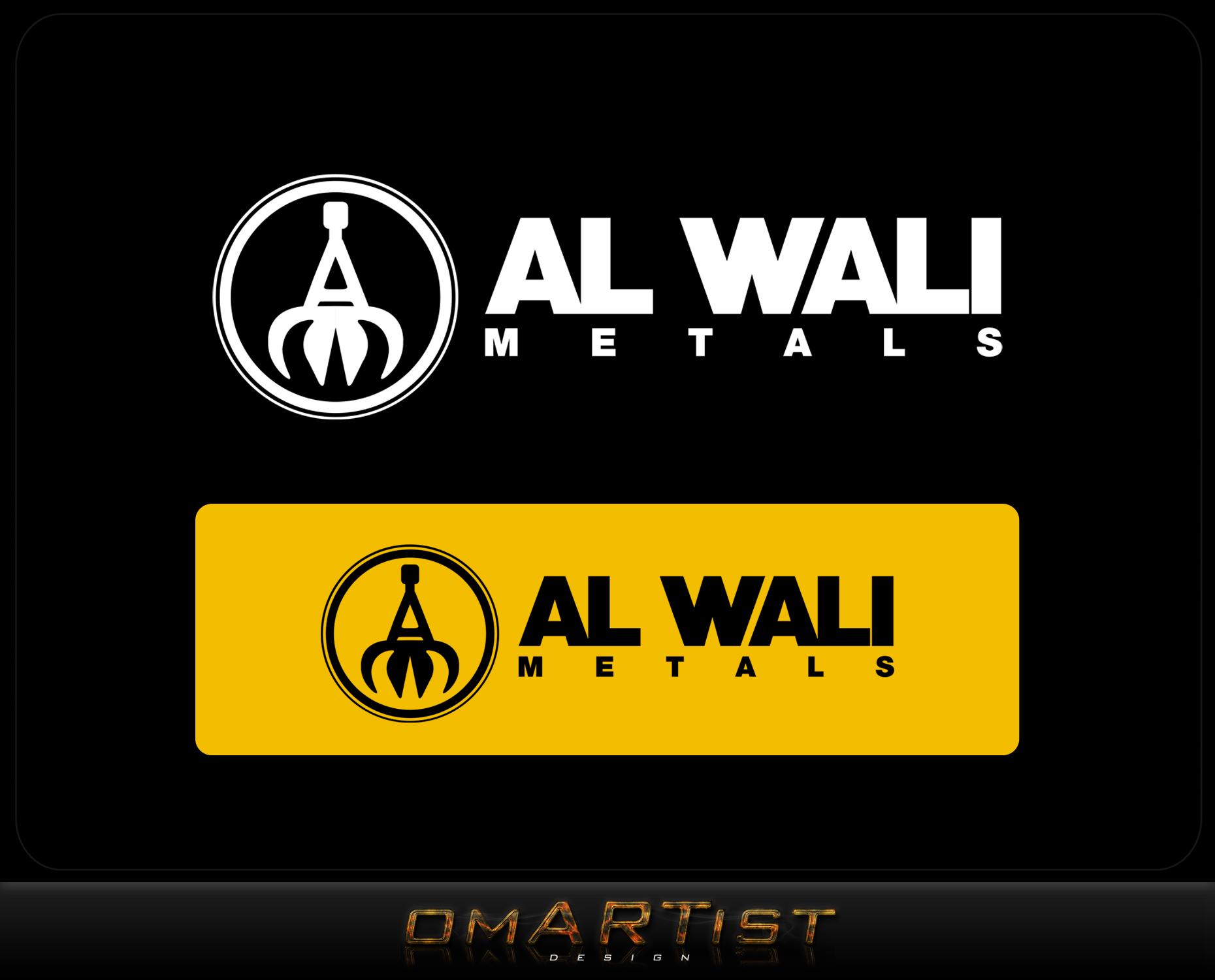 Logo Design by omARTist - Entry No. 105 in the Logo Design Contest Inspiring Logo Design for Al Wali Metals.