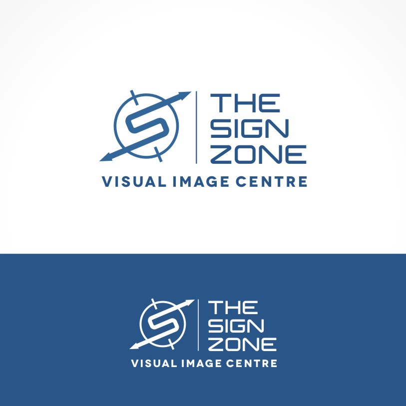 Logo Design by Private User - Entry No. 139 in the Logo Design Contest Fun Logo Design for The Sign Zone.