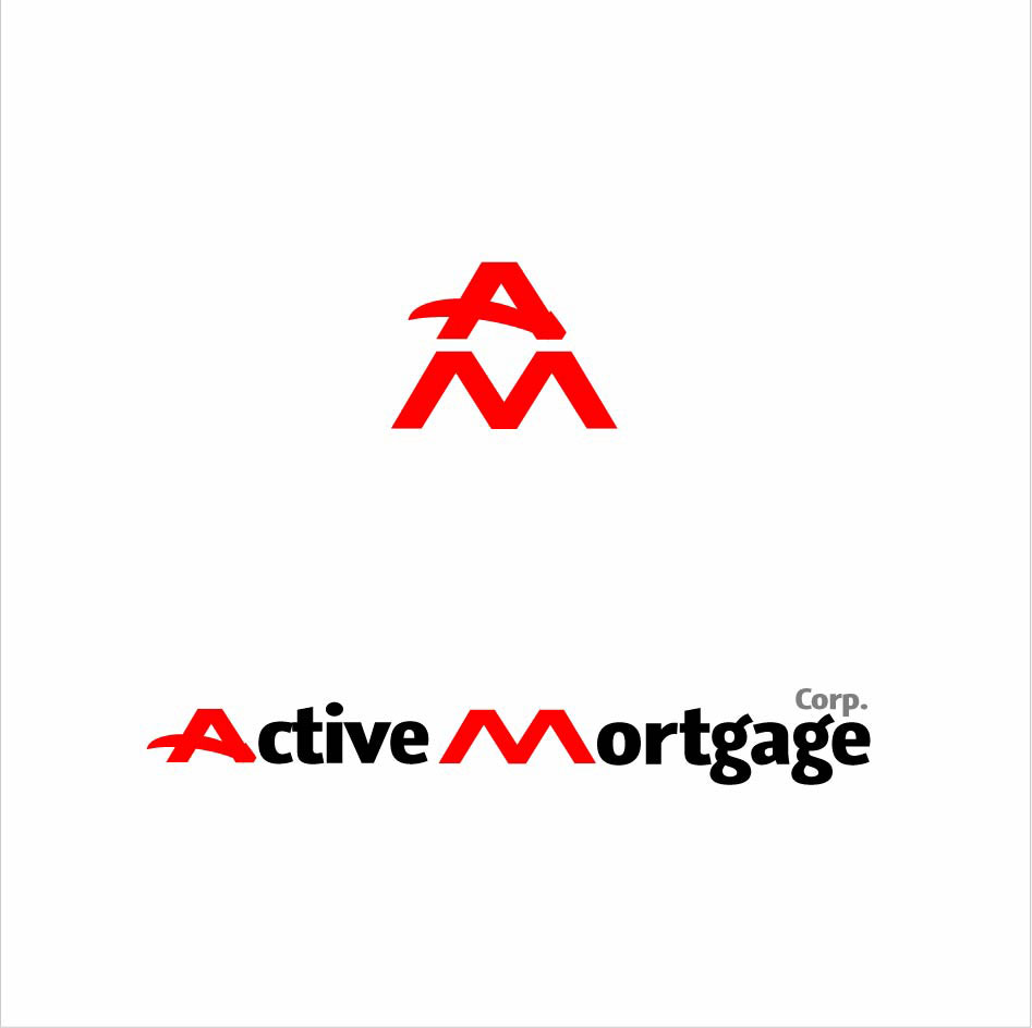 Logo Design by Zisis-Papalexiou - Entry No. 112 in the Logo Design Contest Active Mortgage Corp..