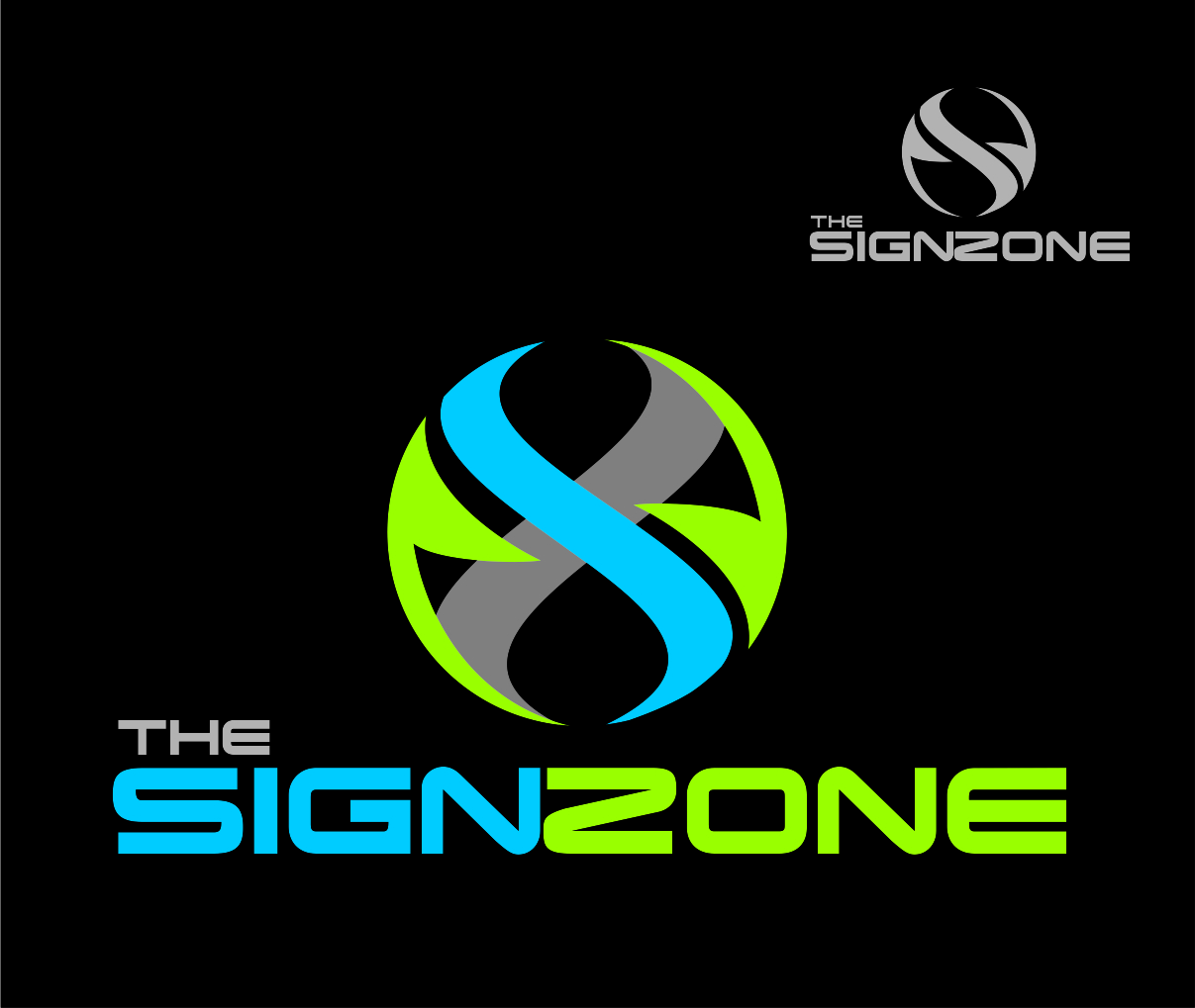 Logo Design by Reivan Ferdinan - Entry No. 143 in the Logo Design Contest Fun Logo Design for The Sign Zone.