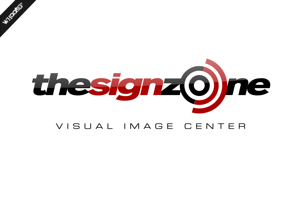 Logo Design by whoosef - Entry No. 145 in the Logo Design Contest Fun Logo Design for The Sign Zone.