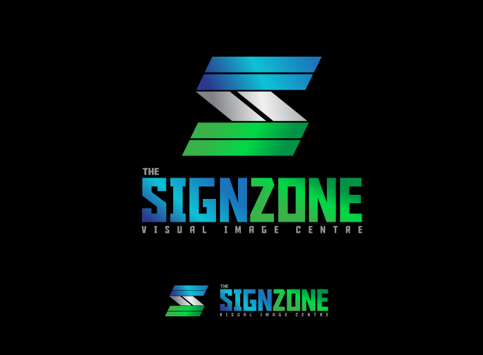 Logo Design by Jan Chua - Entry No. 146 in the Logo Design Contest Fun Logo Design for The Sign Zone.
