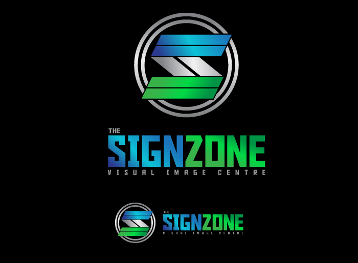 Logo Design by Jan Chua - Entry No. 148 in the Logo Design Contest Fun Logo Design for The Sign Zone.