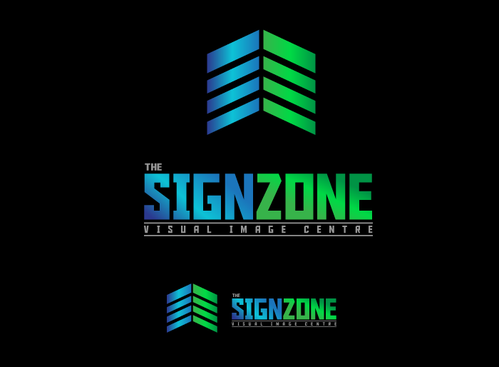 Logo Design by Jan Chua - Entry No. 149 in the Logo Design Contest Fun Logo Design for The Sign Zone.