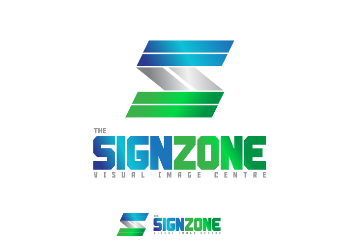 Logo Design by Jan Chua - Entry No. 150 in the Logo Design Contest Fun Logo Design for The Sign Zone.