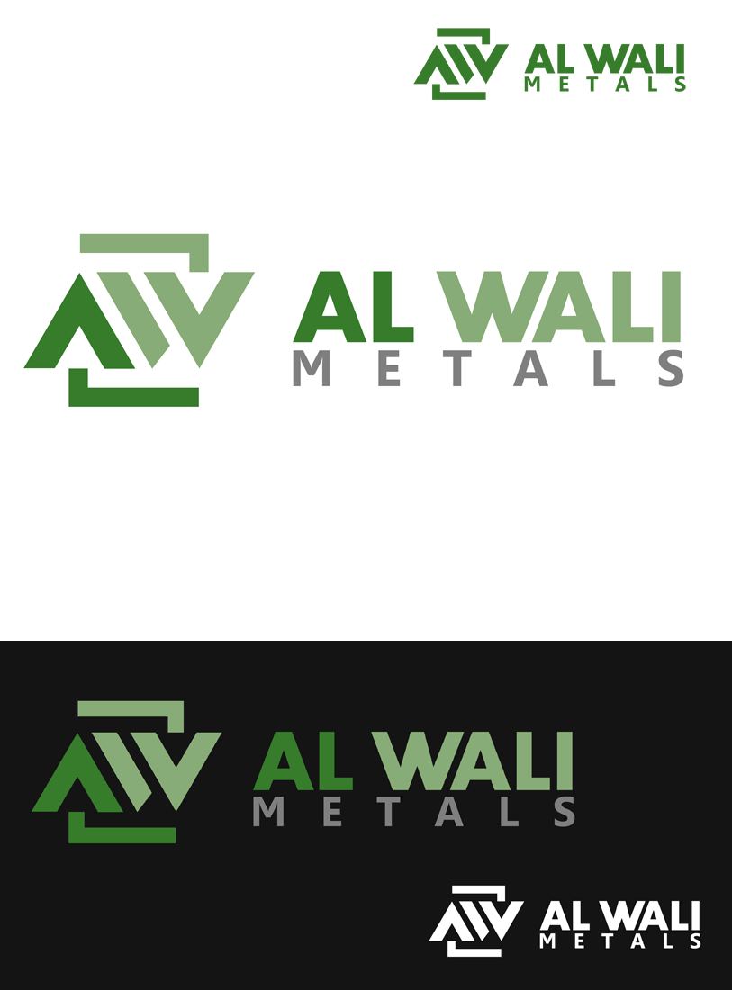 Logo Design by Private User - Entry No. 107 in the Logo Design Contest Inspiring Logo Design for Al Wali Metals.