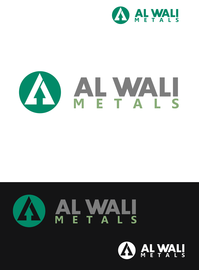 Logo Design by Robert Turla - Entry No. 108 in the Logo Design Contest Inspiring Logo Design for Al Wali Metals.