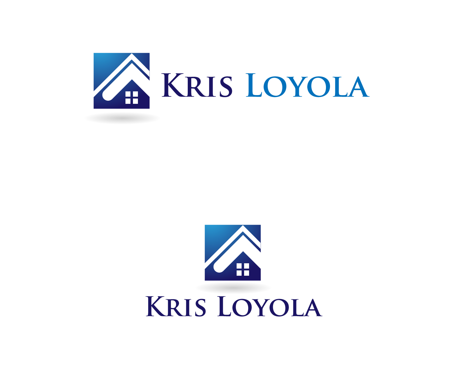 Logo Design by Jagdeep Singh - Entry No. 92 in the Logo Design Contest Kris Loyola Logo Design.