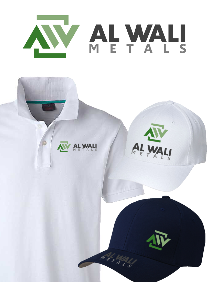 Logo Design by Robert Turla - Entry No. 109 in the Logo Design Contest Inspiring Logo Design for Al Wali Metals.
