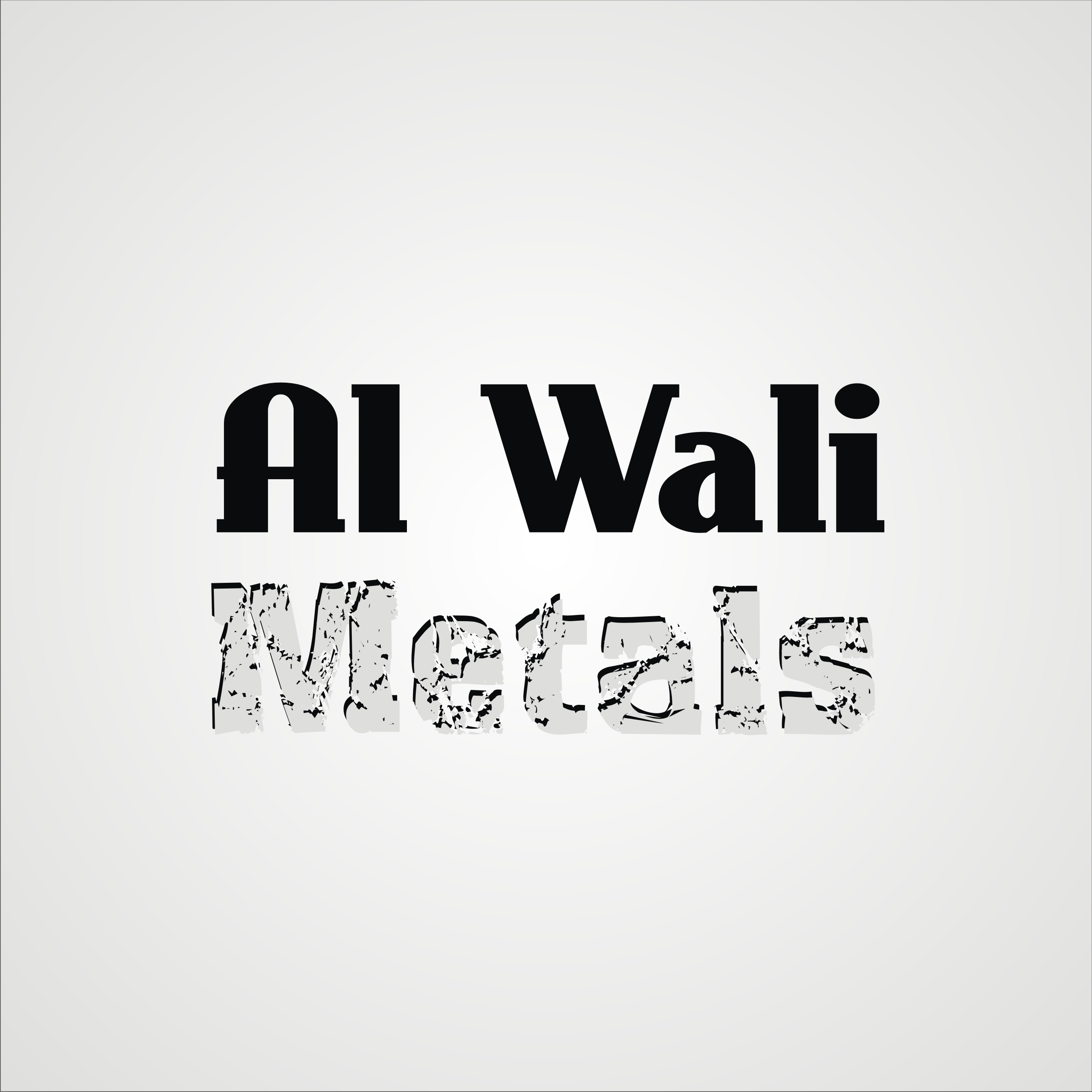 Logo Design by Private User - Entry No. 116 in the Logo Design Contest Inspiring Logo Design for Al Wali Metals.