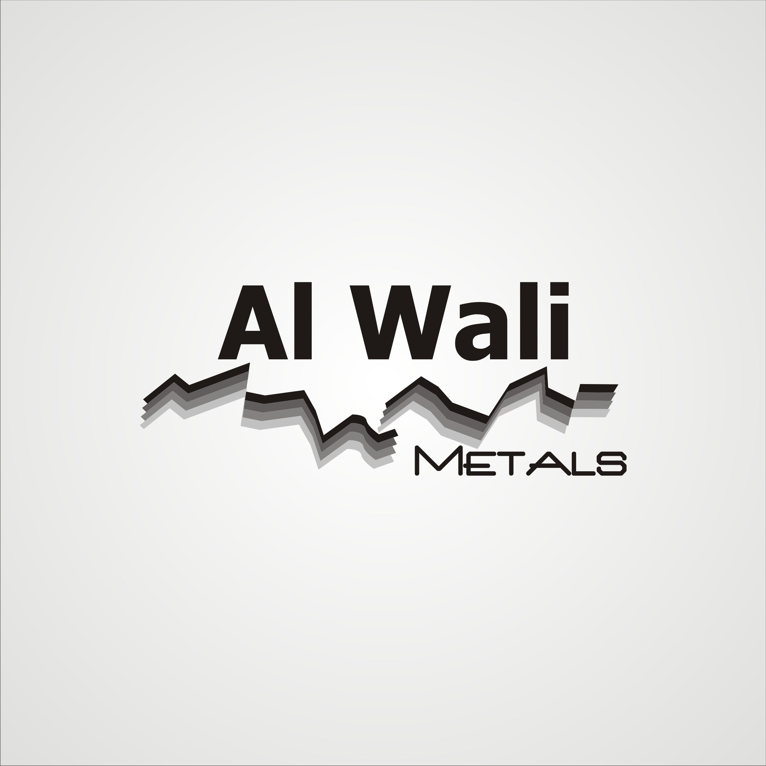 Logo Design by Private User - Entry No. 117 in the Logo Design Contest Inspiring Logo Design for Al Wali Metals.