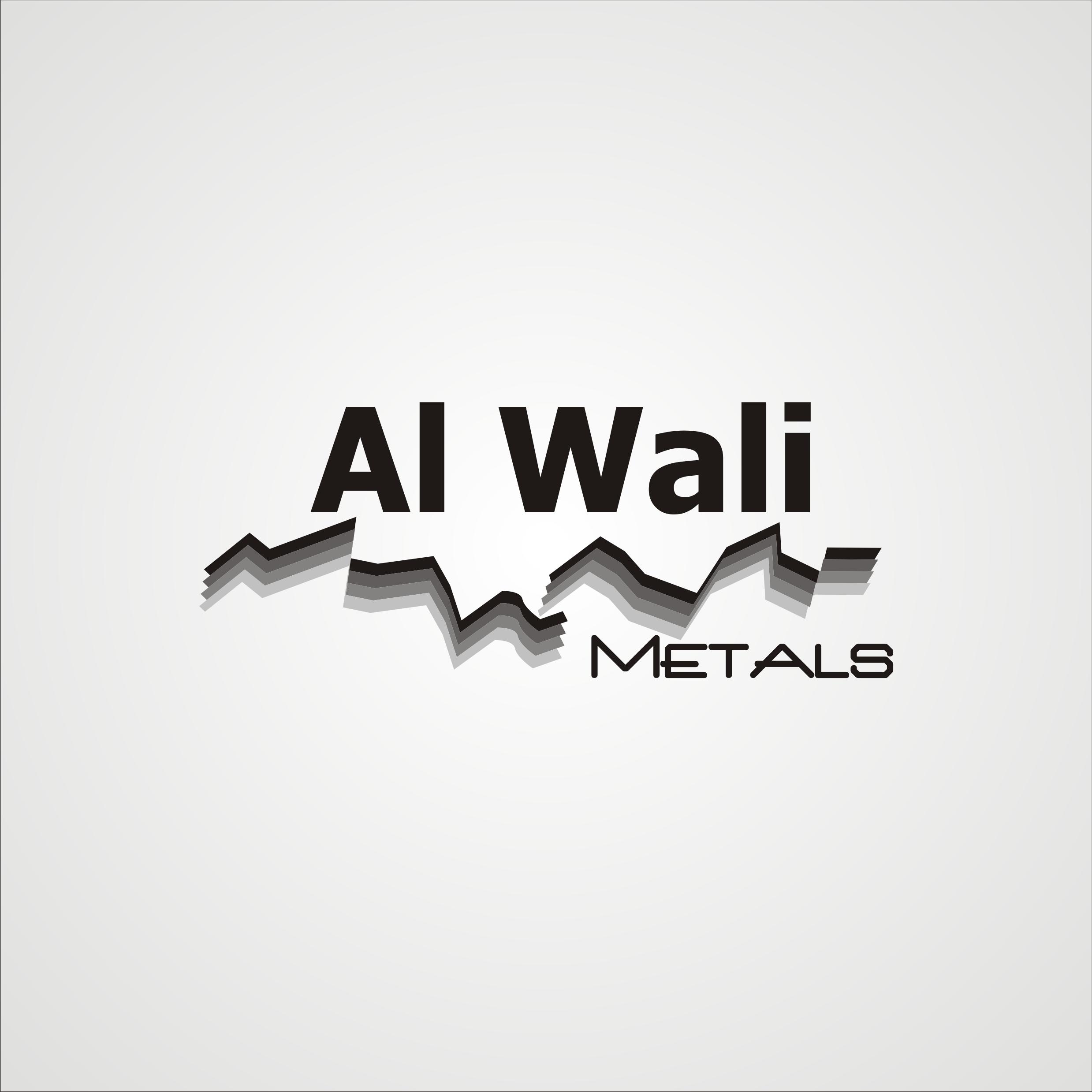 Logo Design by Private User - Entry No. 117 in the Logo Design Contest Inspiring Logo Design for Al Wali Metals.