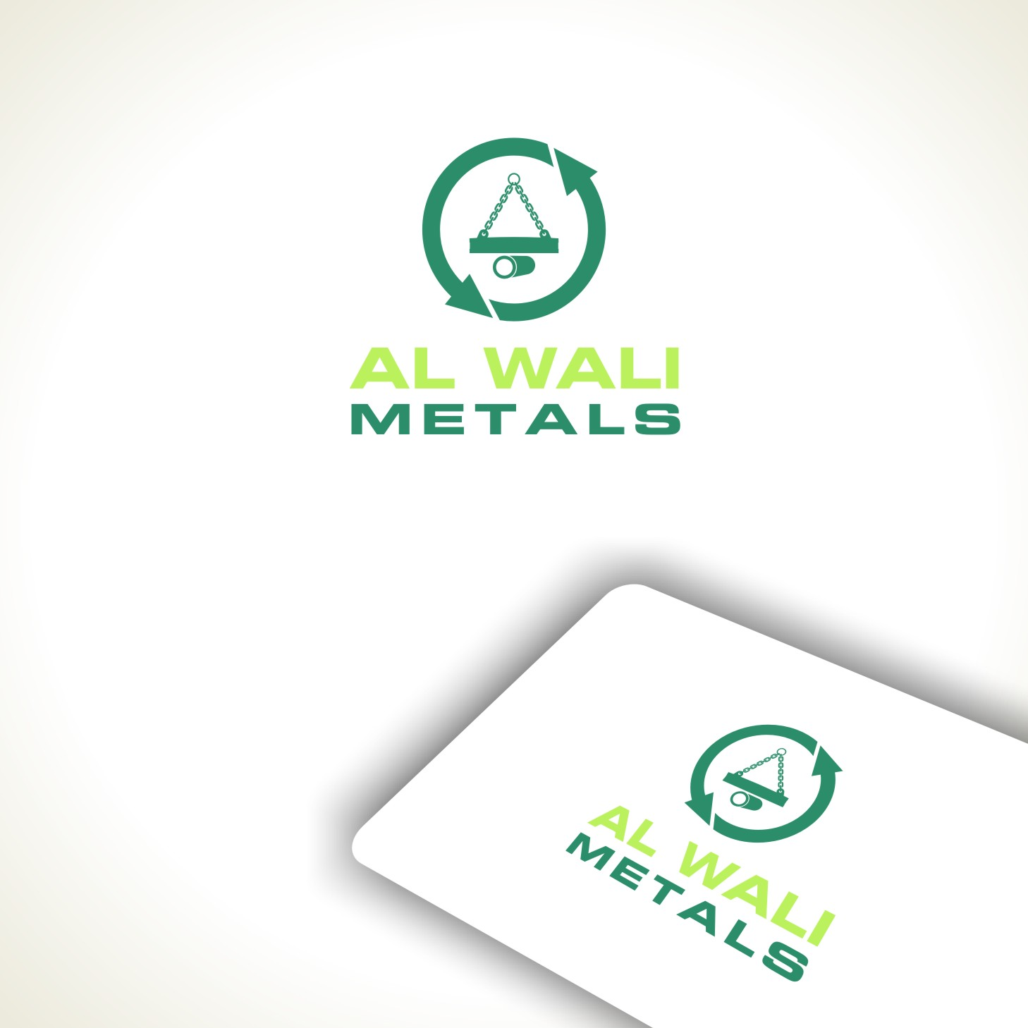 Logo Design by Private User - Entry No. 121 in the Logo Design Contest Inspiring Logo Design for Al Wali Metals.