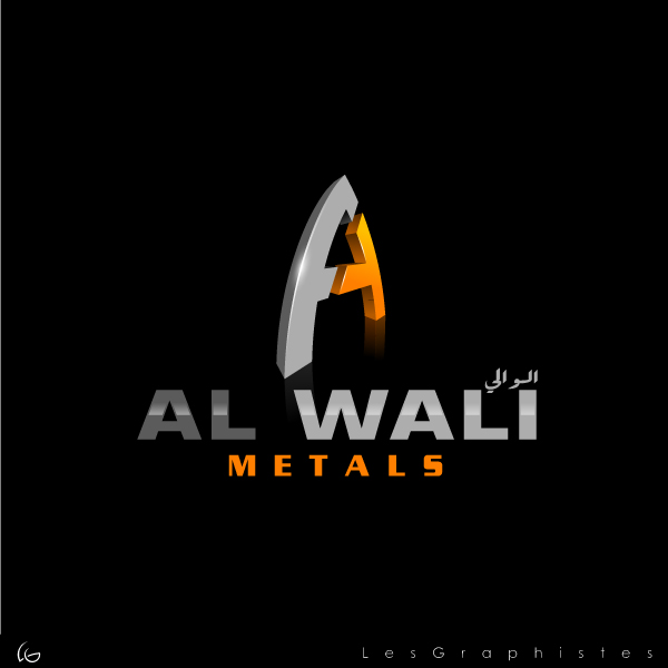 Logo Design by Les-Graphistes - Entry No. 126 in the Logo Design Contest Inspiring Logo Design for Al Wali Metals.