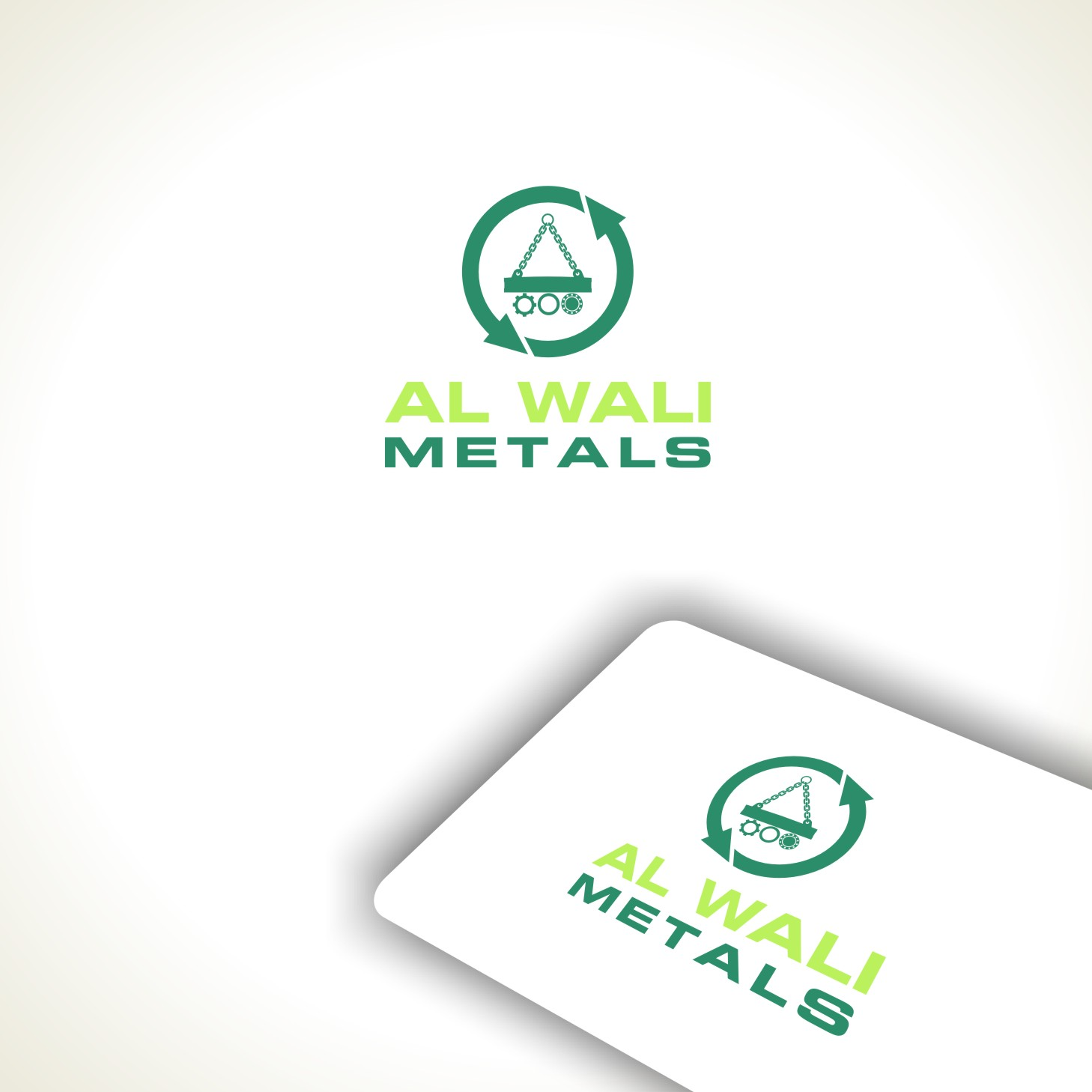 Logo Design by Private User - Entry No. 127 in the Logo Design Contest Inspiring Logo Design for Al Wali Metals.