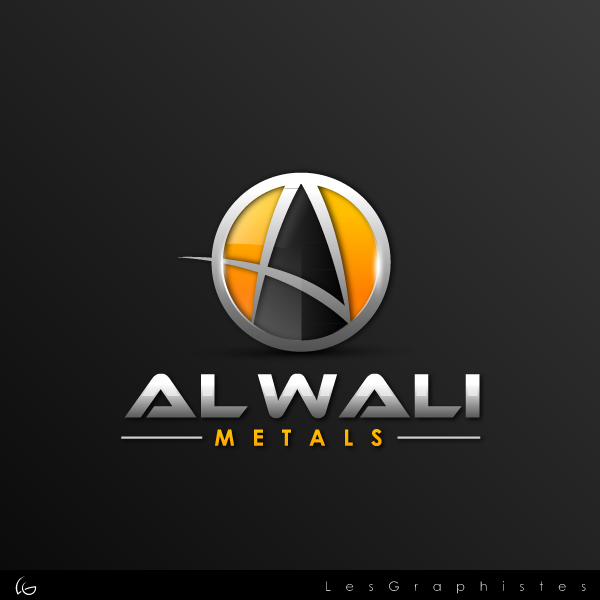 Logo Design by Les-Graphistes - Entry No. 128 in the Logo Design Contest Inspiring Logo Design for Al Wali Metals.