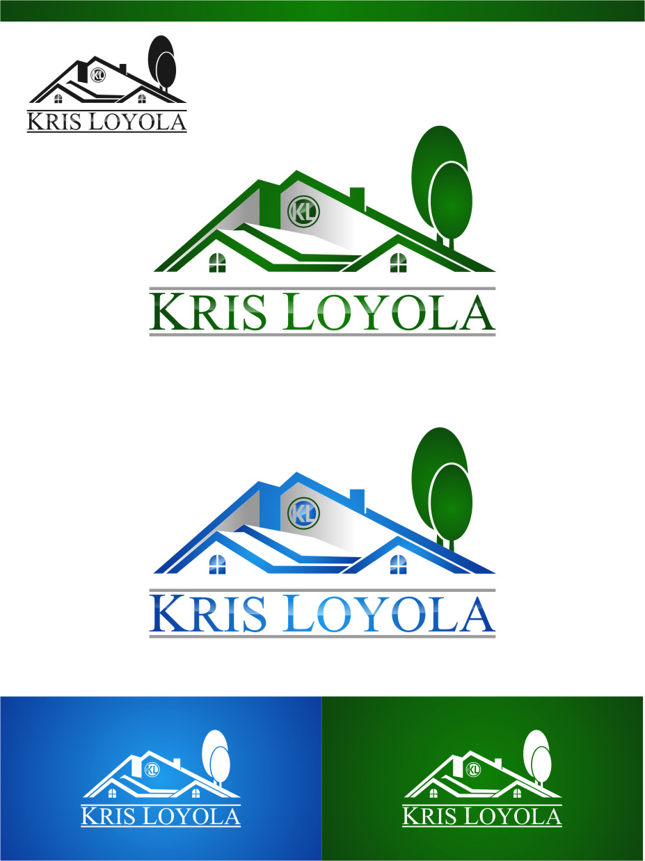 Logo Design by RasYa Muhammad Athaya - Entry No. 105 in the Logo Design Contest Kris Loyola Logo Design.