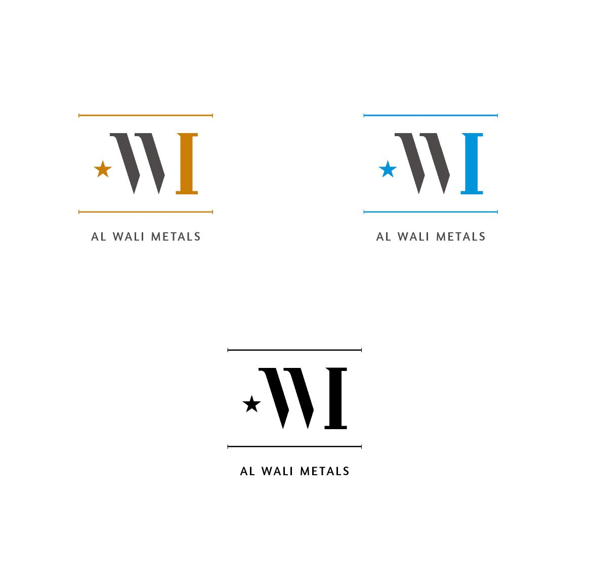 Logo Design by ZAYYADI AHMAD - Entry No. 135 in the Logo Design Contest Inspiring Logo Design for Al Wali Metals.