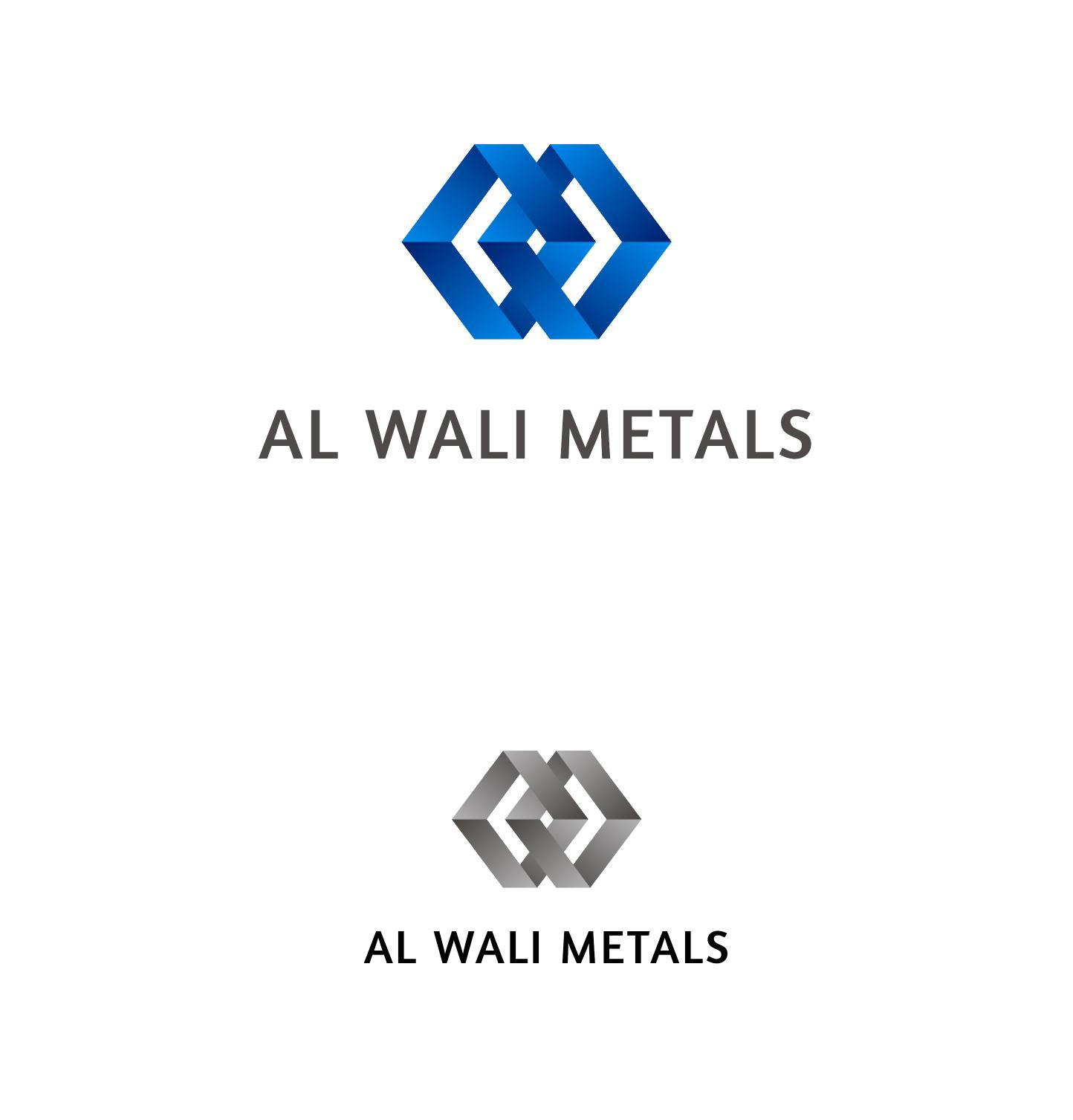Logo Design by ZAYYADI AHMAD - Entry No. 137 in the Logo Design Contest Inspiring Logo Design for Al Wali Metals.