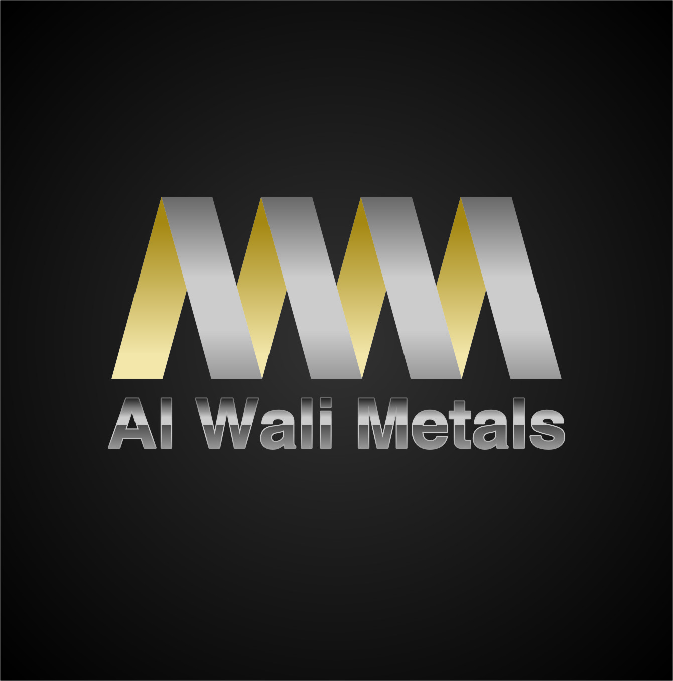 Logo Design by RasYa Muhammad Athaya - Entry No. 138 in the Logo Design Contest Inspiring Logo Design for Al Wali Metals.
