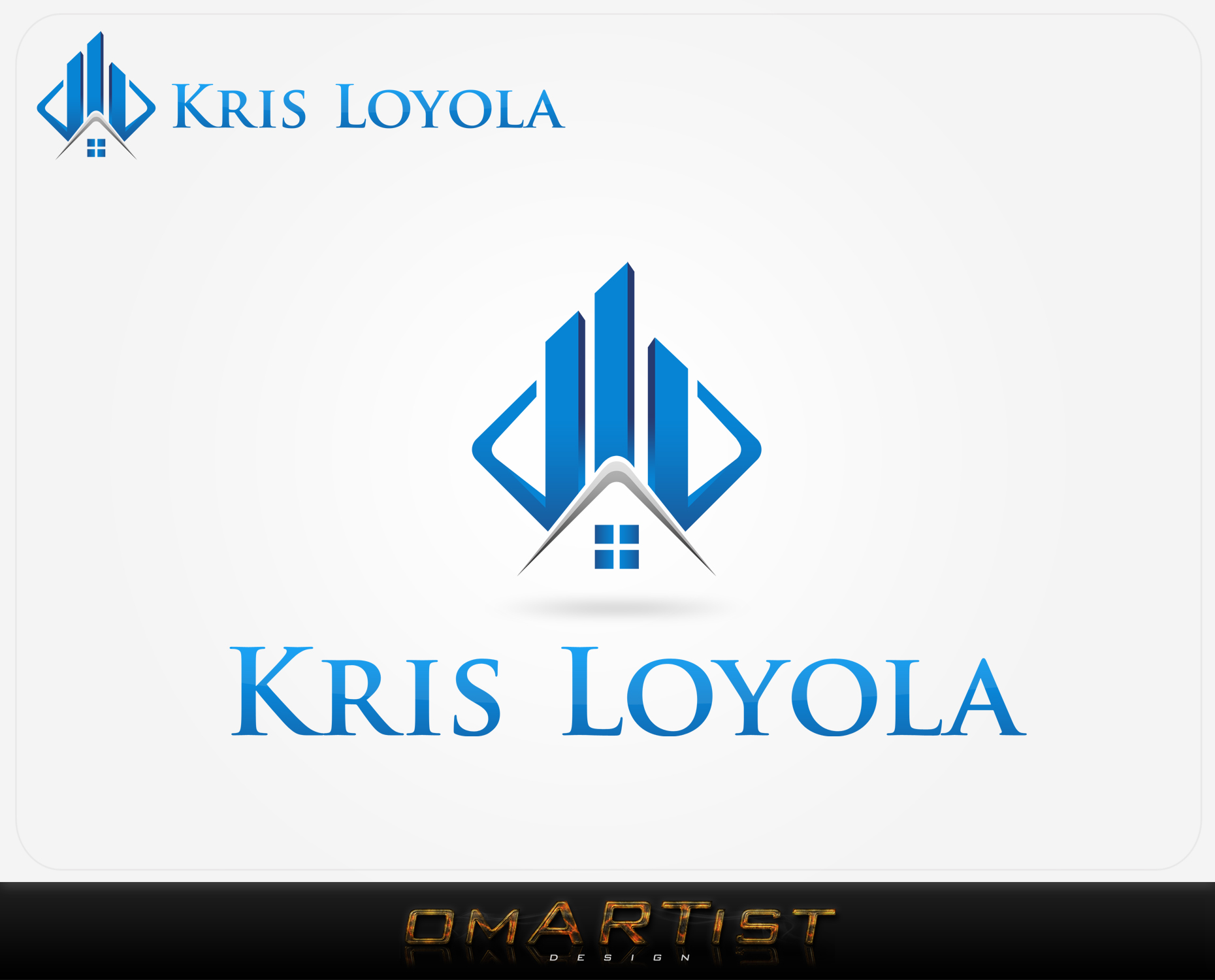 Logo Design by omARTist - Entry No. 106 in the Logo Design Contest Kris Loyola Logo Design.